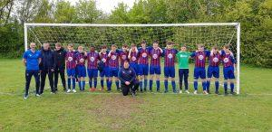 Ise lodge Youth U16s & coaches